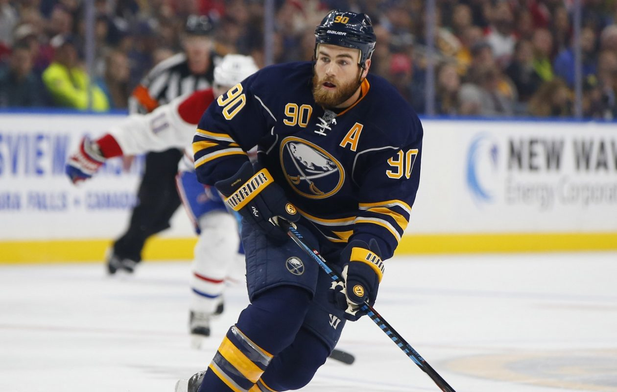 Ryan O'Reilly is trying to become the second Buffalo player to win the Lady Byng Trophy. (Harry Scull Jr./News file photo)