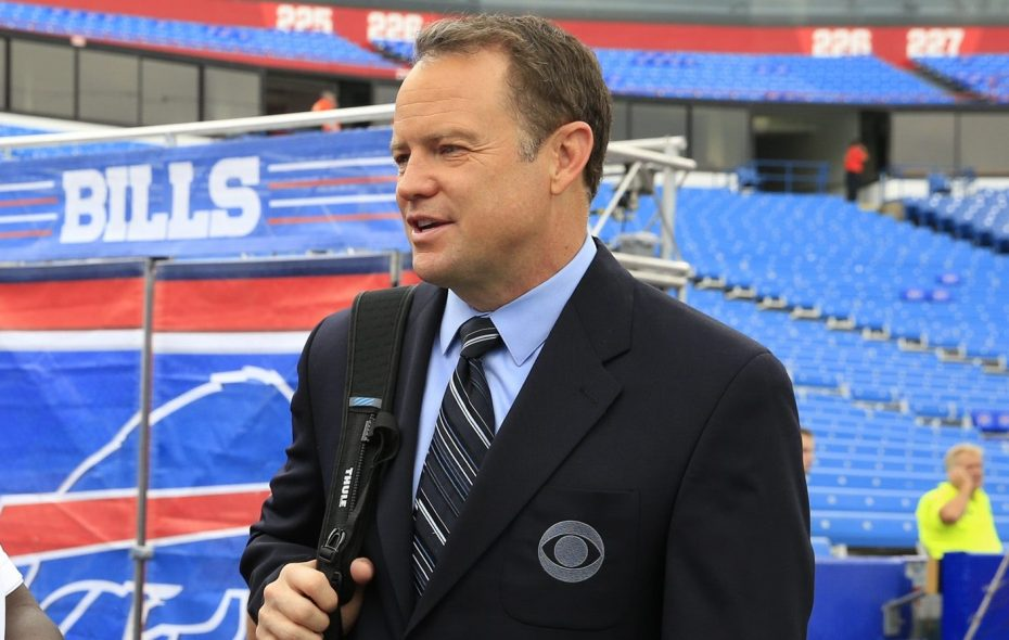 Former Bills special teams great Steve Tasker worked at CBS for more than 20 years. (Harry Scull Jr./News file photo)