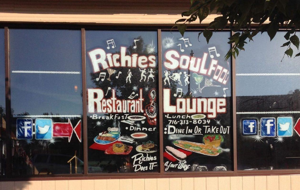 Richies has been open in the former Molly's Pub space for about two weeks. (Richies Soul Food Restaurant)