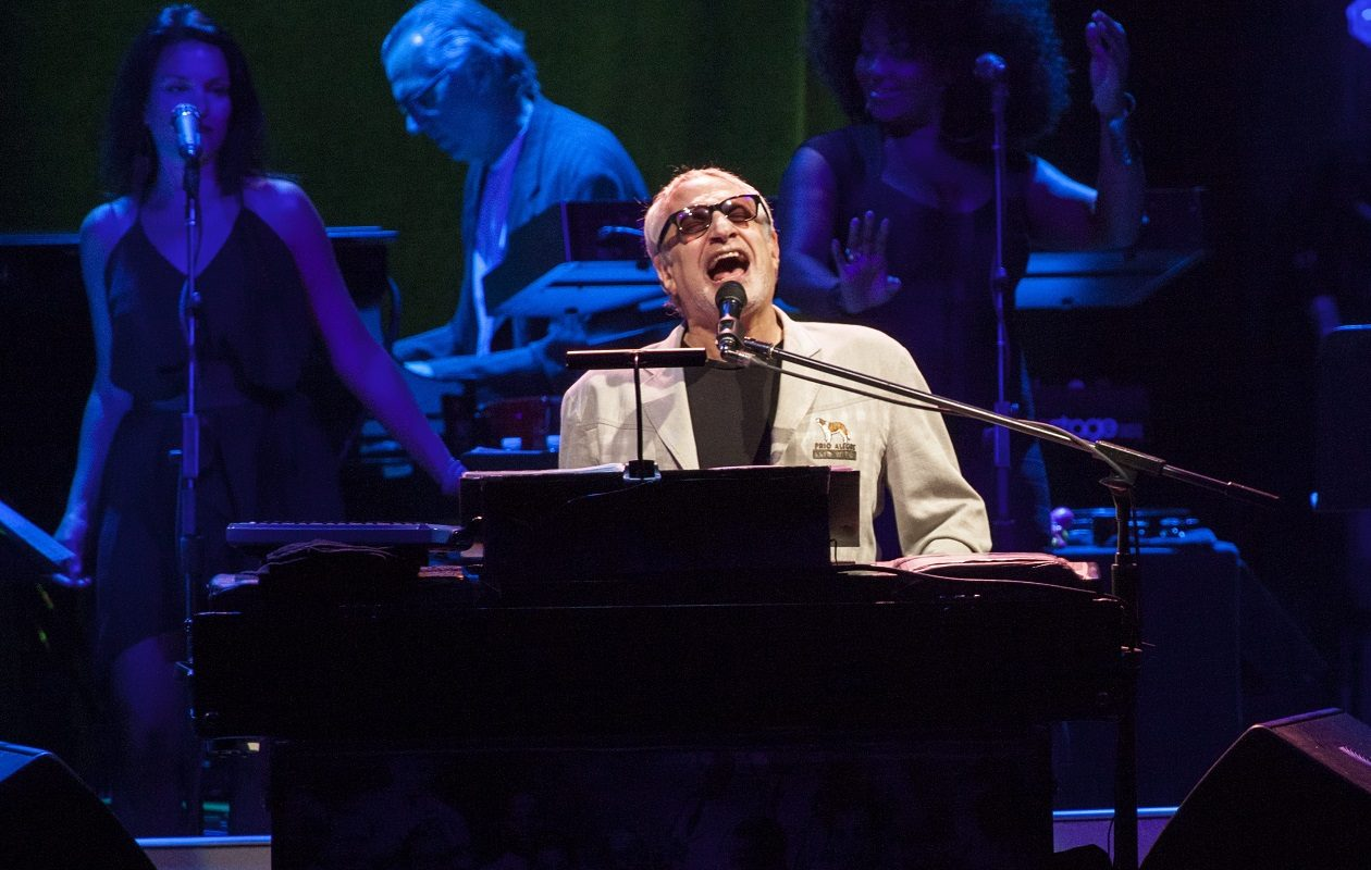 Donald Fagen of Steely Dan performs onstage at the Beacon Theatre in New York City on Oct. 10, 2015. (Getty Images)