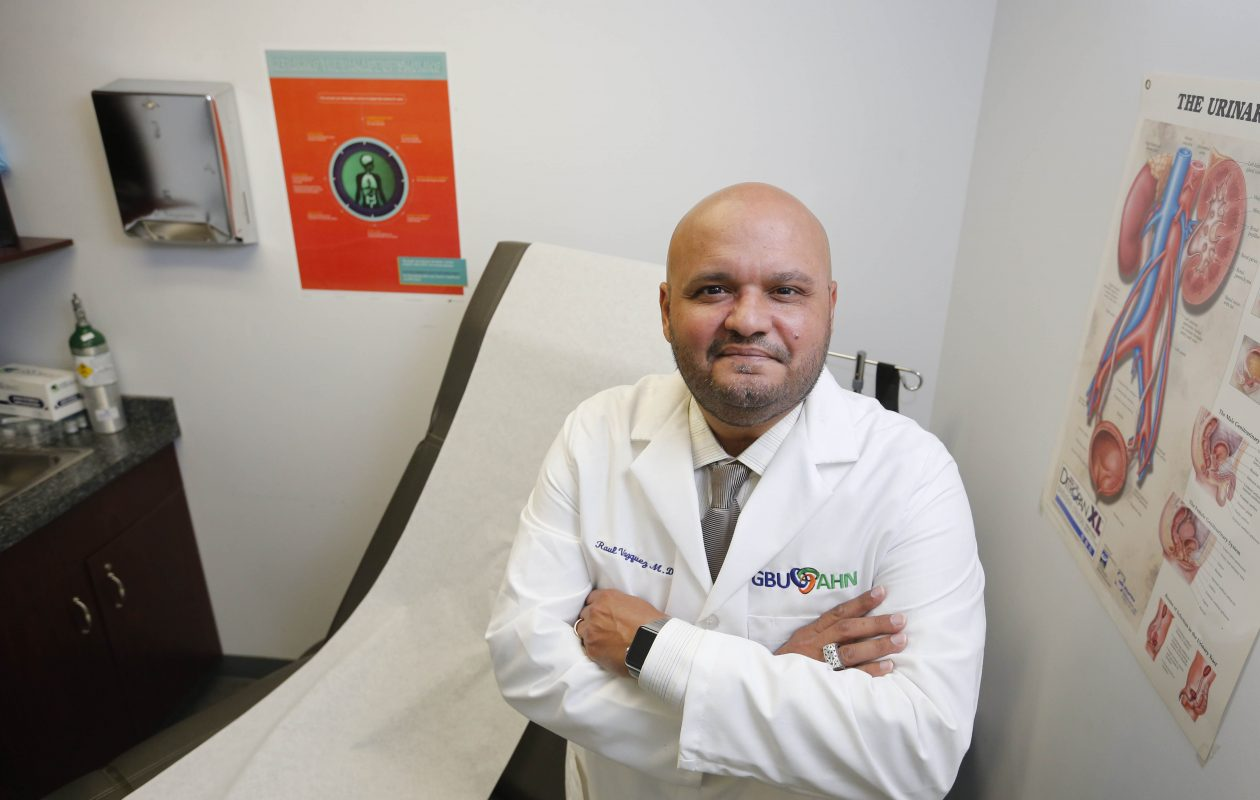 Dr. Raul Vazquez is CEO of the Greater Buffalo United Accountable Healthcare Network.  (Derek Gee/Buffalo News file photo)