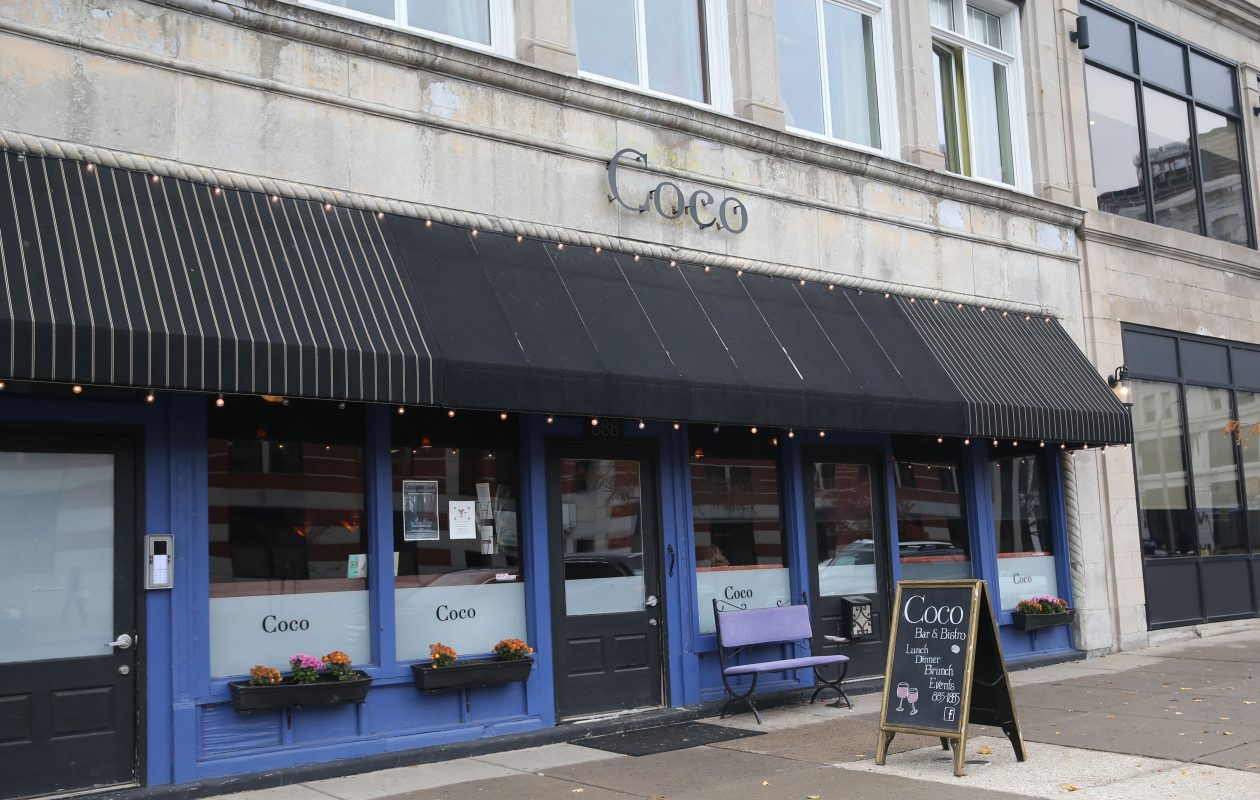 While the building at 888 Main St. is for sale, the owner of Coco's restaurant has renewed her lease with a 15-year option. (Sharon Cantillon/Buffalo News file photo)