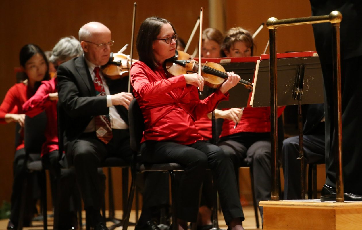 The Buffalo Philharmonic Orchestra performed Mozart twice this weekend. (Sharon Cantillon/Buffalo News)