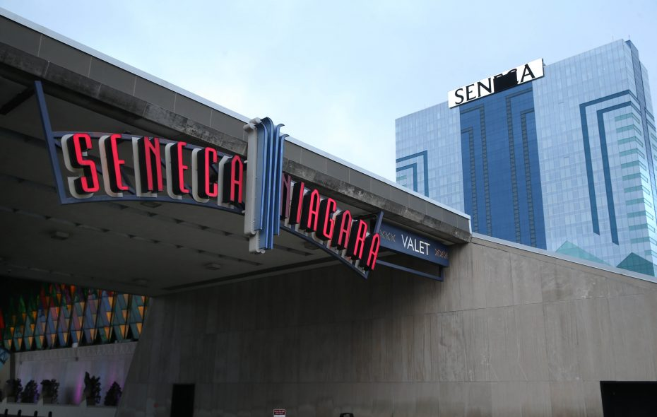 A dispute between the Seneca Nation, which owns Seneca Niagara Casino, and New York State has grown increasingly nasty in recent weeks. (Sharon Cantillon/News file photo)