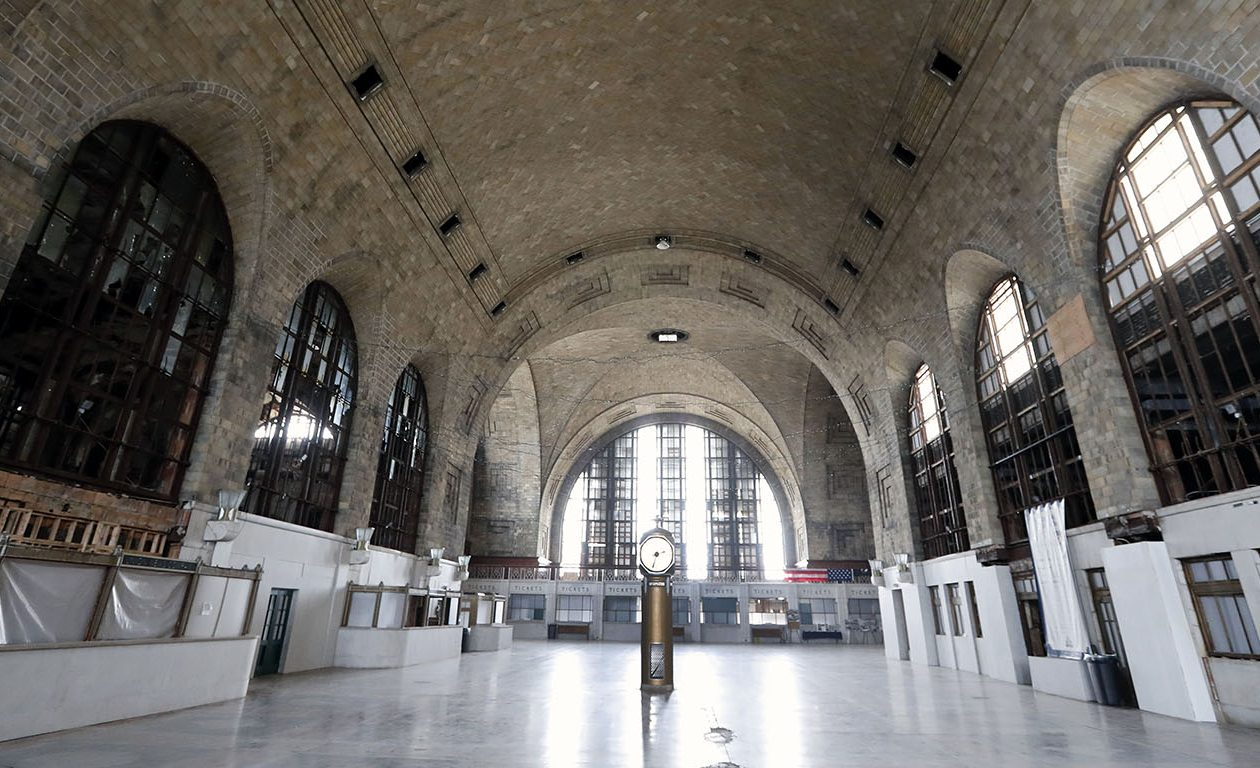 The main concourse at Buffalo's Central Terminal. (Mark Mulville/News file photo)