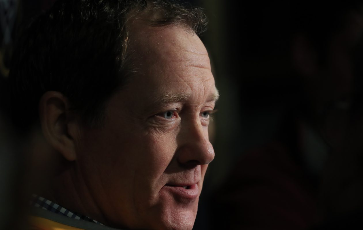 New Sabres coach Phil Housley is giving the players a fresh slate and the promise of aggressive play. (Harry Scull Jr./Buffalo News file photo)