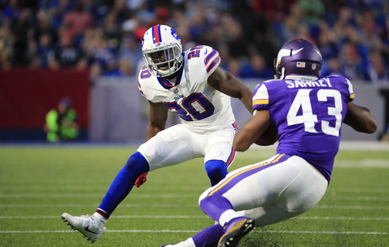 A shooting occurred at a home owned by Buffalo Bills cornerback Shareece Wright. (Harry Scull Jr./Buffalo News)