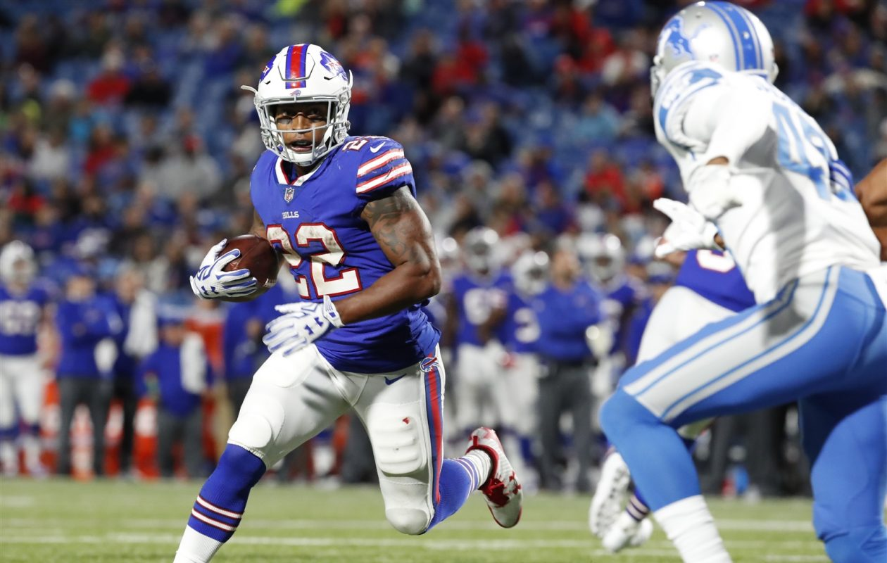 Bills running back Joe Banyard will be part of a team effort when it comes to giving starter LeSean McCoy a breather. (Harry Scull Jr./Buffalo News)