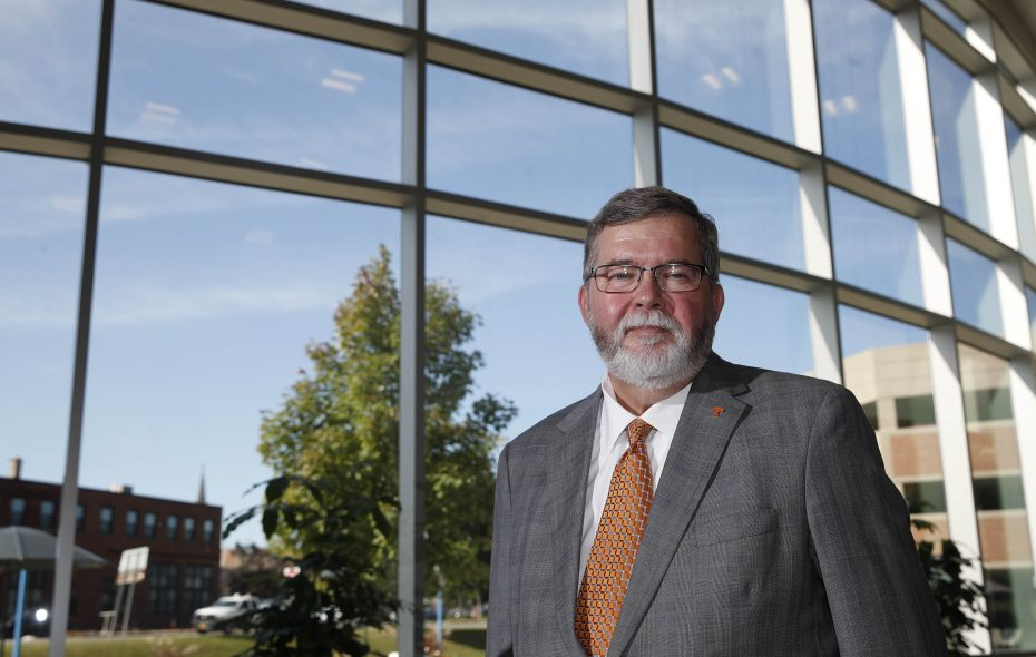 Joseph McDonald, president and CEO of Catholic Health, is planning to step down after 15 years at the helm. (Sharon Cantillon/Buffalo News)