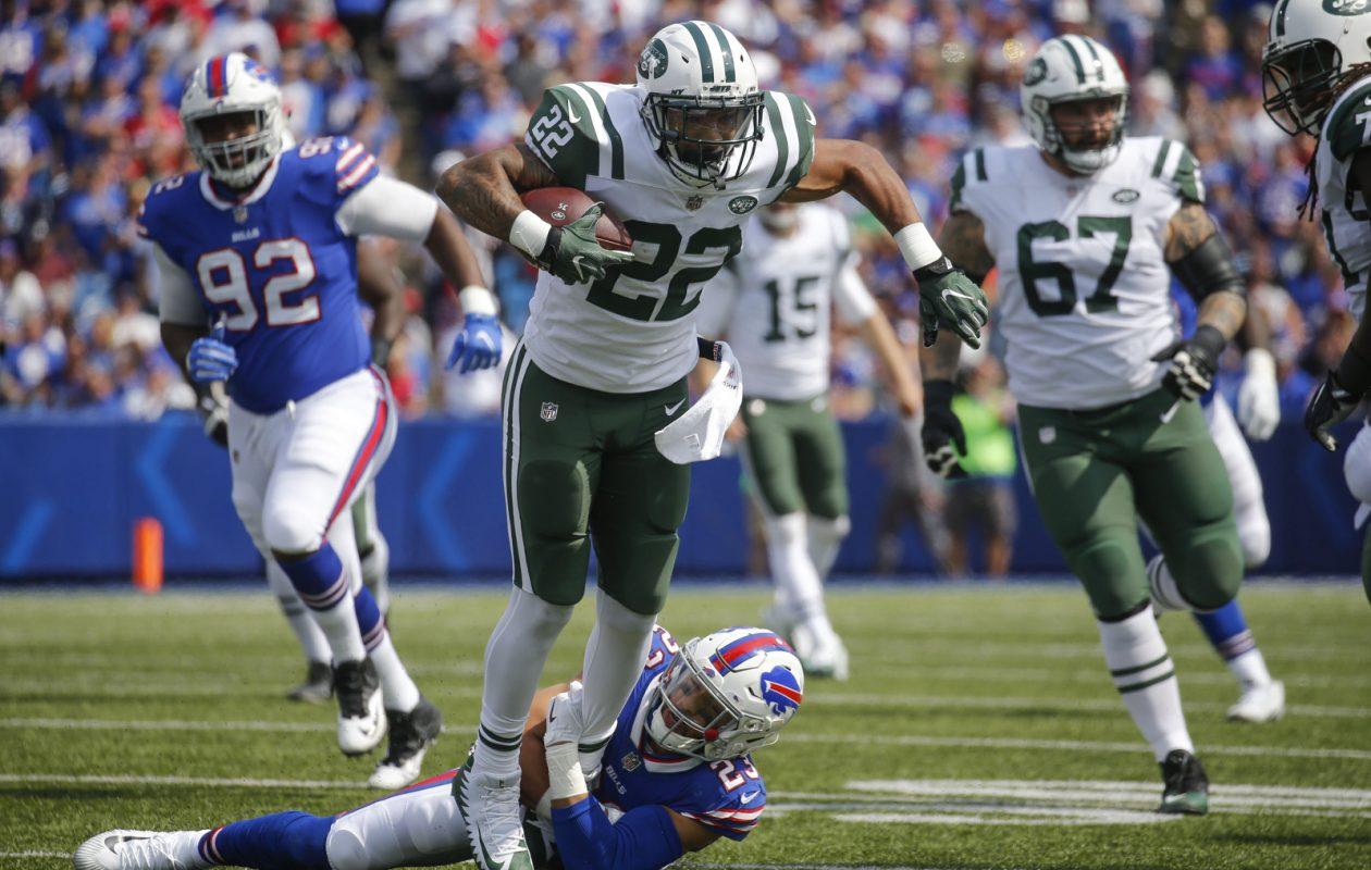 New York Jets running back Matt Forte never got going vs. the Bills. (Robert Kirkham/Buffalo News)