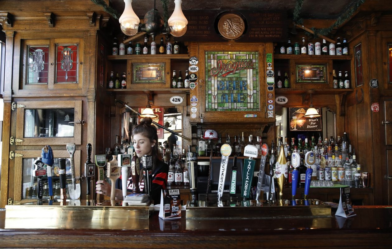Ulrich's 1868 Tavern was opened in 1868 by a German immigrant and got the Ulrich name by manager-turned-owner Michael Ulrich in 1906. It's the next edition of our 100 Things series. (Sharon Cantillon/Buffalo News)