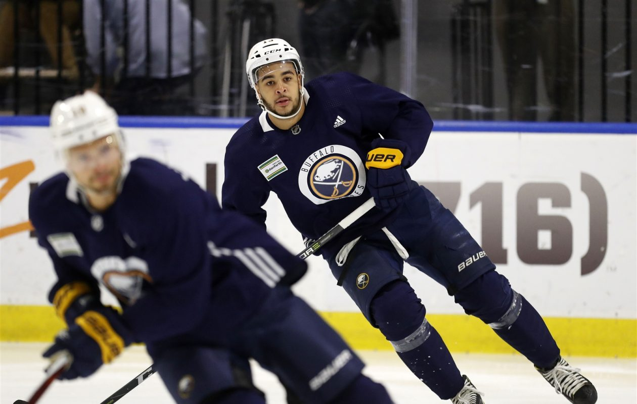 Nick Baptiste is bound for Rochester (Mark Mulville/Buffalo News).