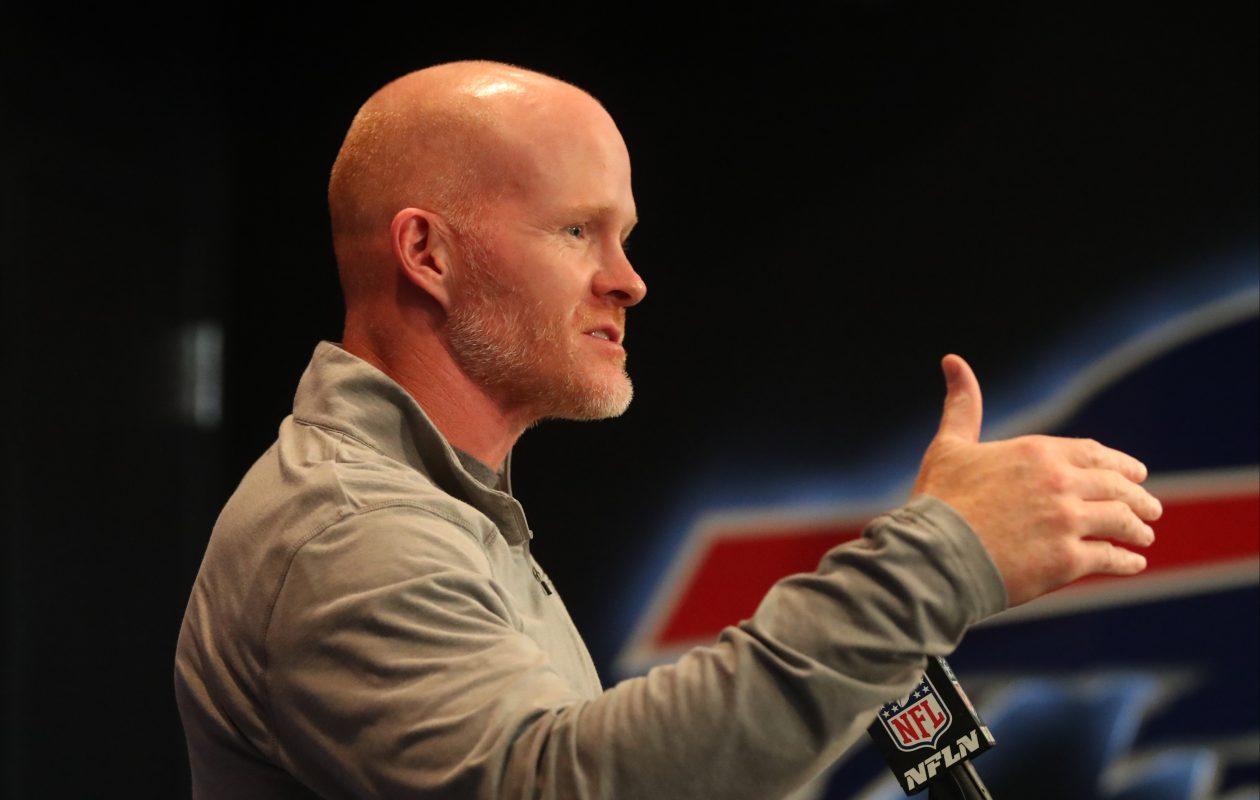 Buffalo Bills coach Sean McDermott.  (James P. McCoy/Buffalo News)