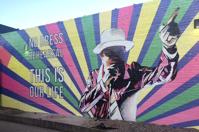 New mural that pays tribute to The Tragically Hip unveiled on Hertel Avenue.