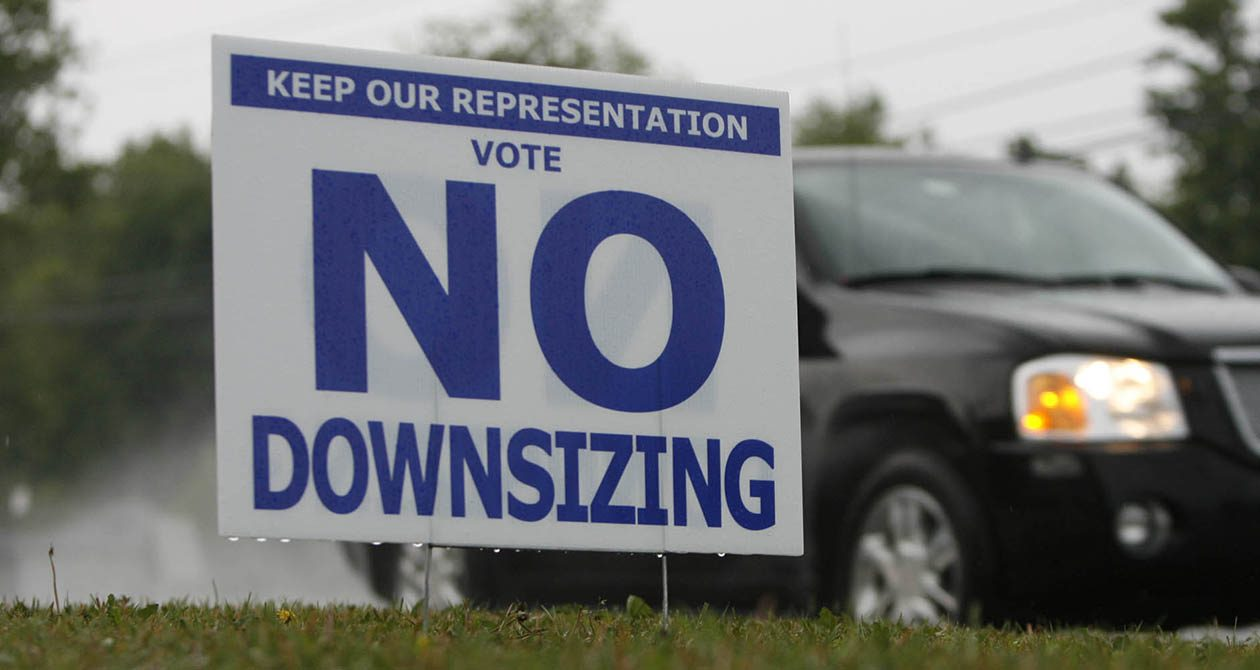 The proposal to upsize the Evans Town Board would reverse the 2009 vote that brought the board down to three members. (Harry Scull Jr./News file photo)