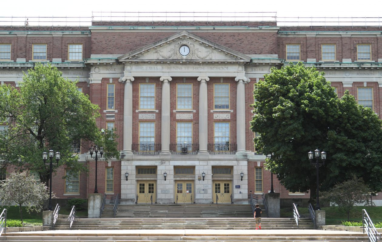 The event will be held in  Bennett High School.   (Sharon Cantillon/Buffalo News file photo)