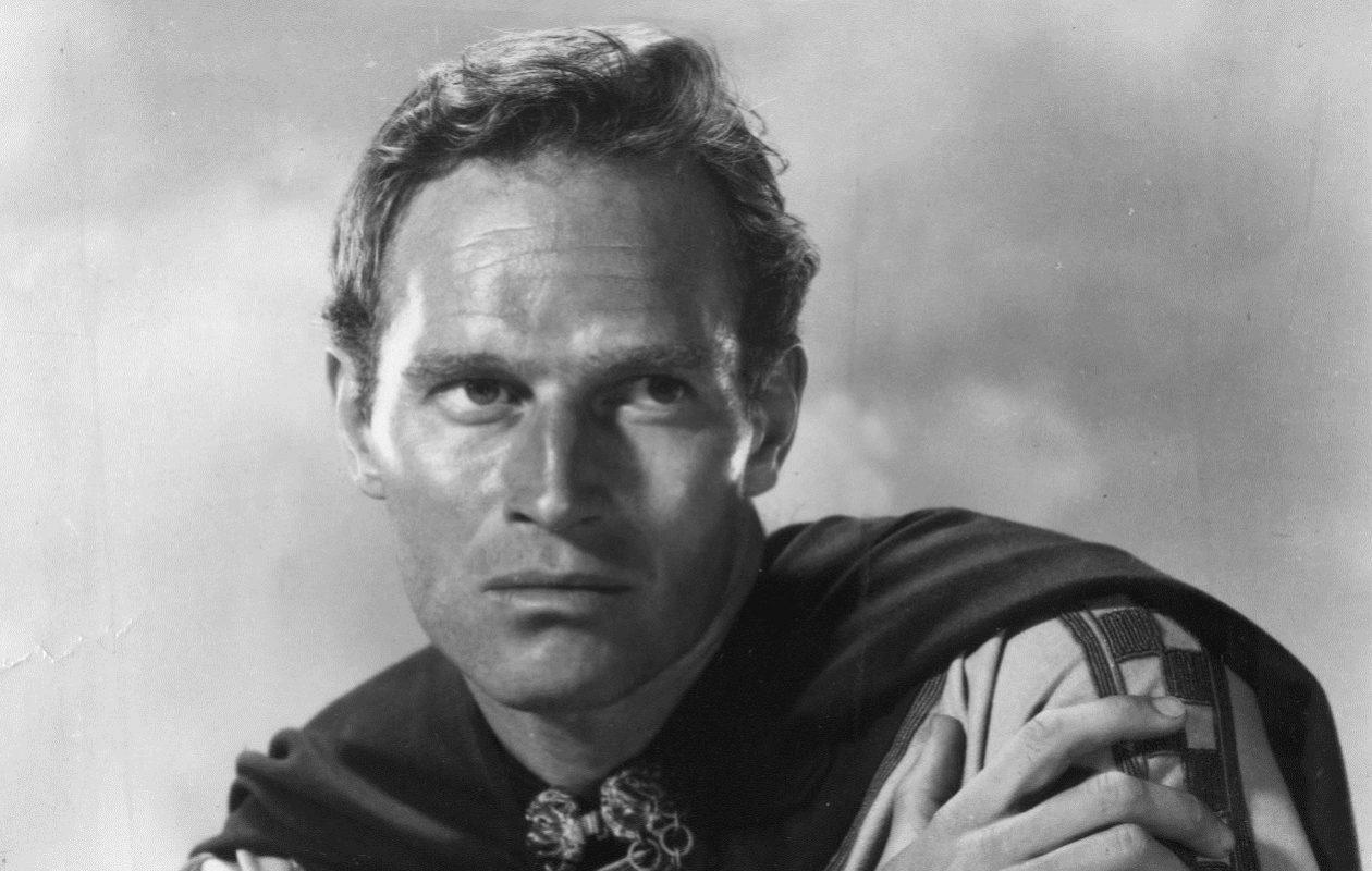 "Charlton Heston in ""Ben Hur"""