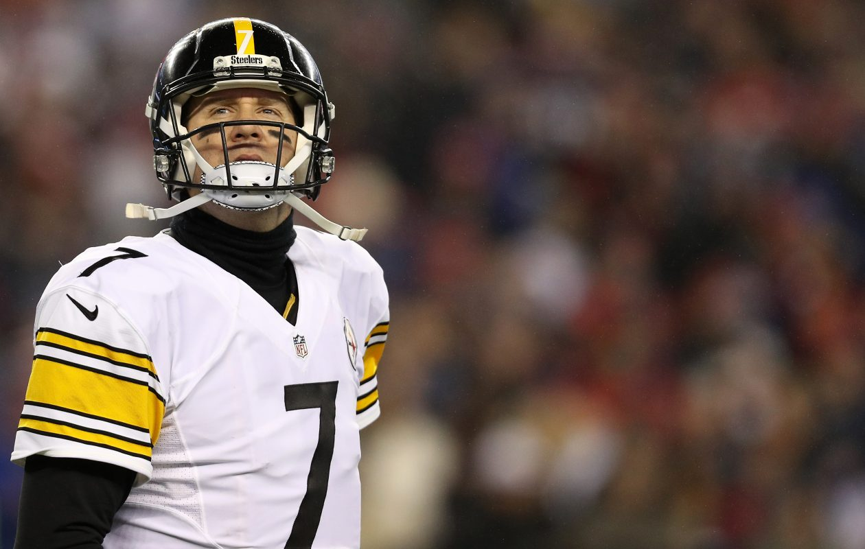Ben Roethlisberger and the Steelers start off in the top spot of Vic Carucci's weekly NFL power rankings. (Patrick Smith/Getty Images)