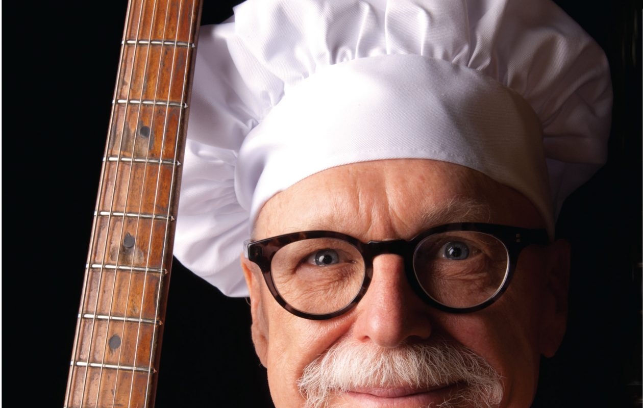 Bill Wharton, the 'Sauce Boss,' returns to Buffalo to cook up his special recipe of food and the blues. (Photo by Eric Ilasenko)