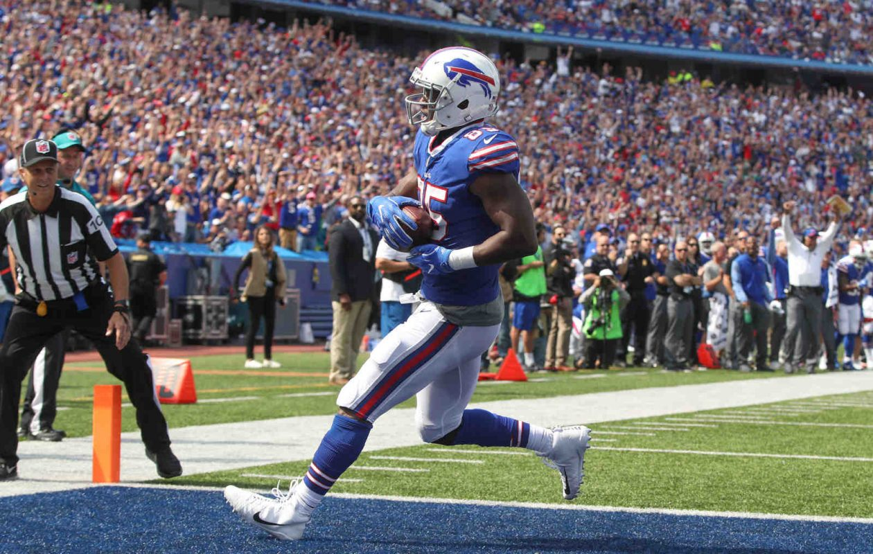 Buffalo Bills tight end Charles Clay was a big factor in victory.