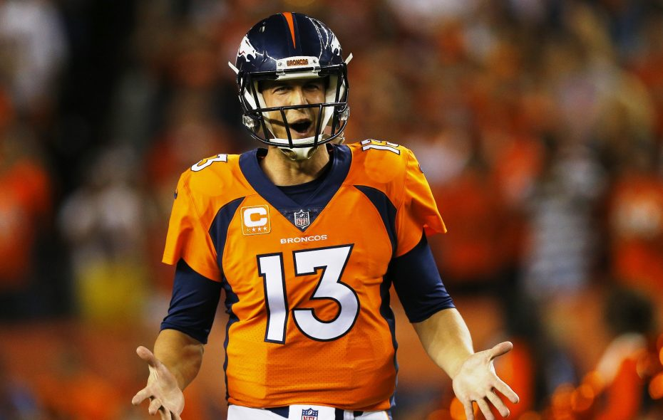 Trevor Siemian threw four touchdowns in Denver's romp over Dallas. (Getty Images)