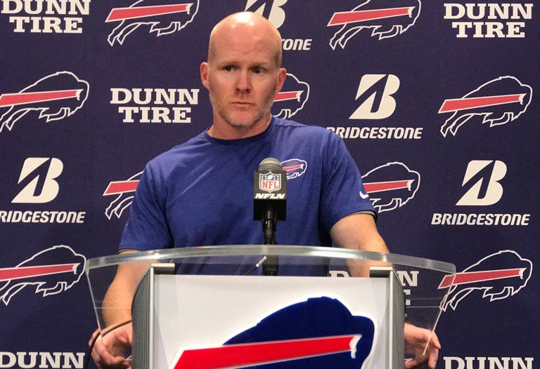 Bills coach Sean McDermott