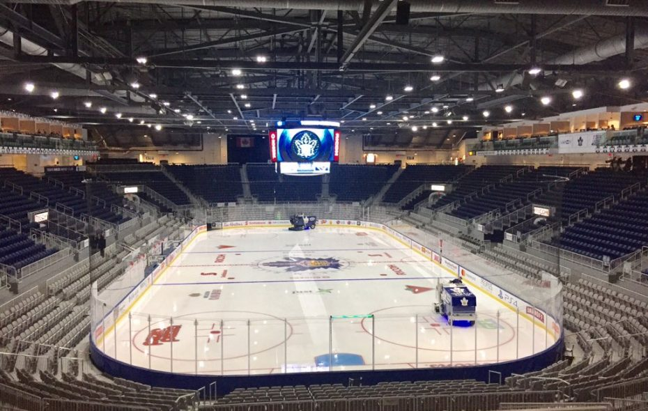 Tonight's game is being played at Ricoh Coliseum. (John Vogl/Buffalo News)