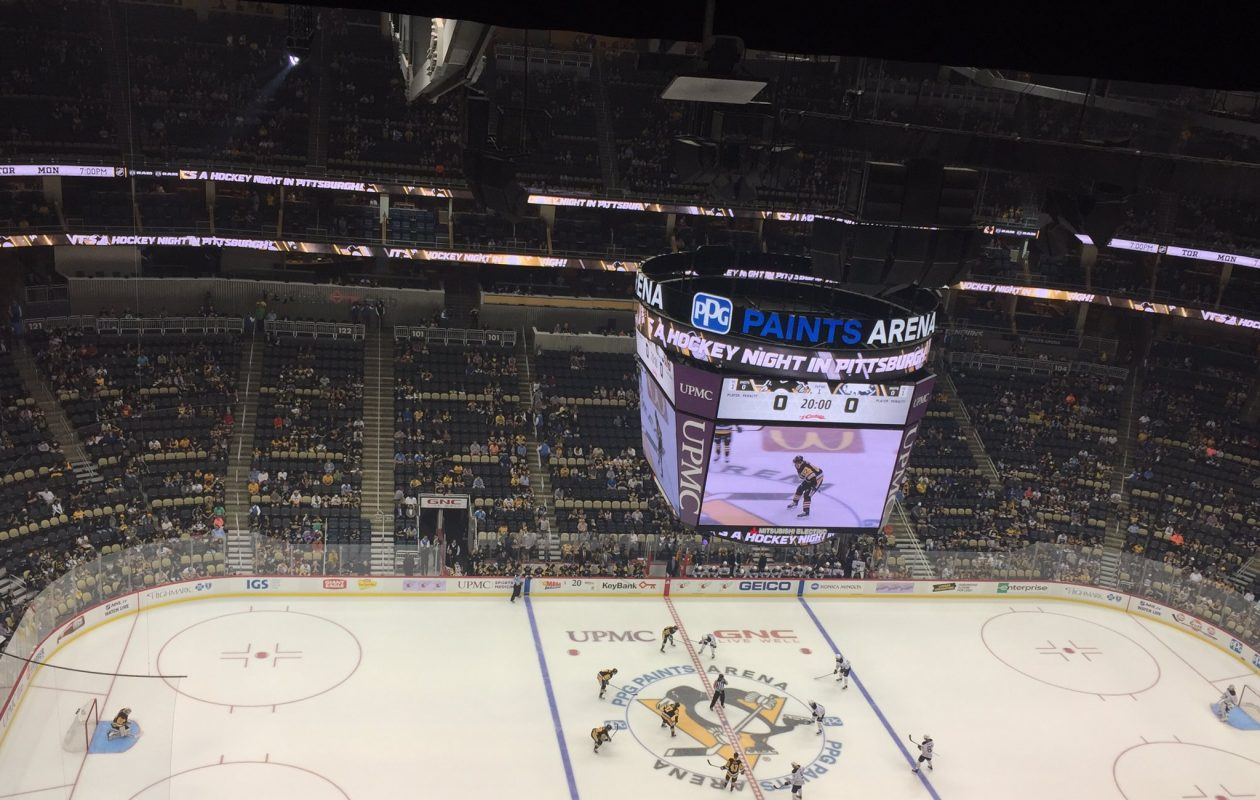 The Buffalo Sabres face off against the Pittsburgh Penguins for the second time in the preseason. (Amy Moritz/Buffalo News)