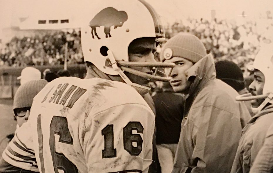 Bills QB Dennis Shaw suffered through a 43-0 loss to Baltimore in 1971. (Buffalo News file photo)