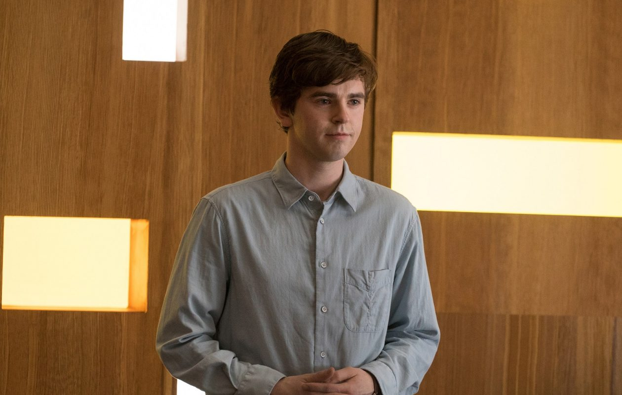 Freddie Highmore in 'The Good Doctor.' (ABC/Liane Hentscher)