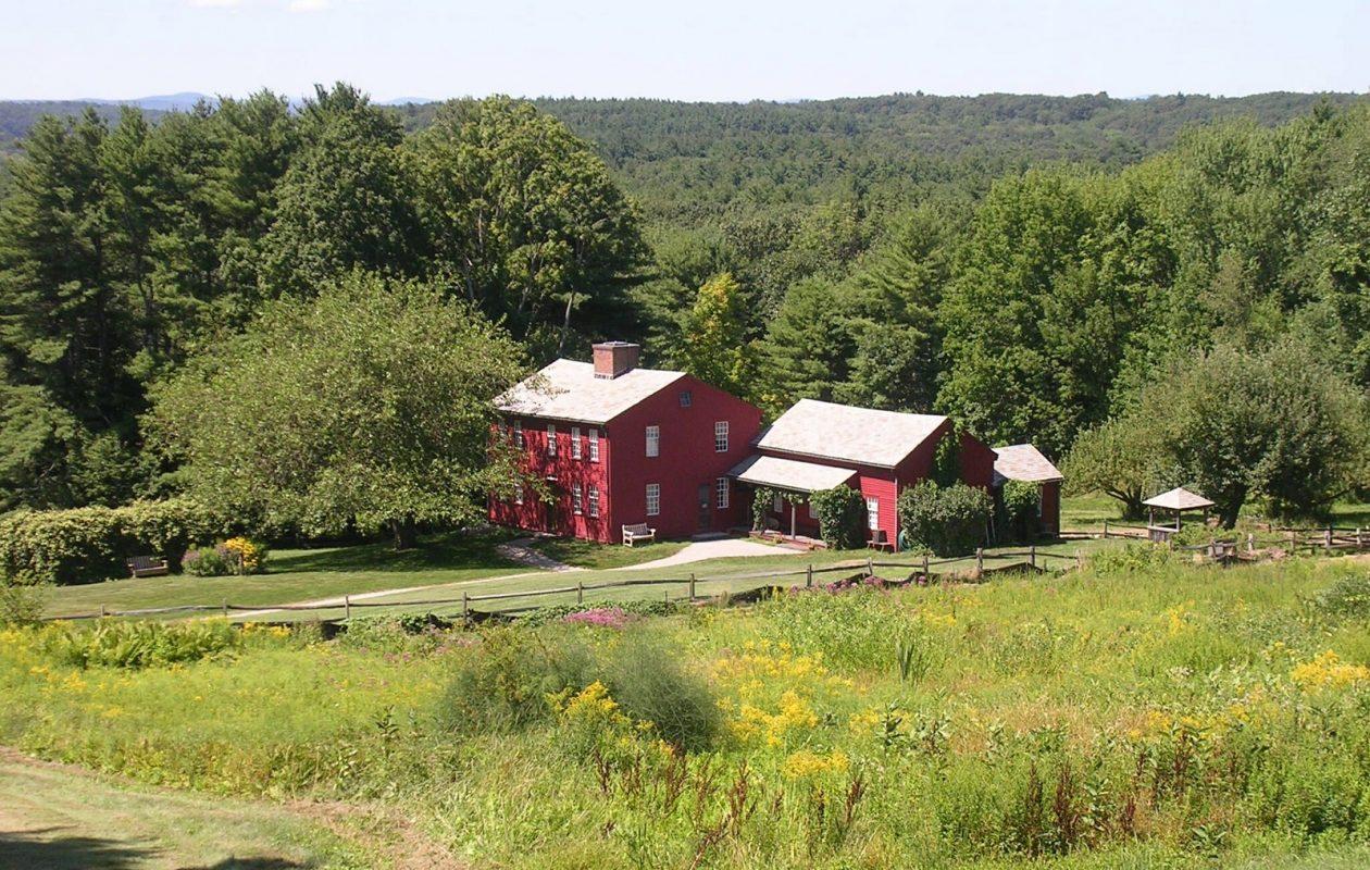 Fruitlands Farmhouse (Courtesy of Fruitlands Museum)
