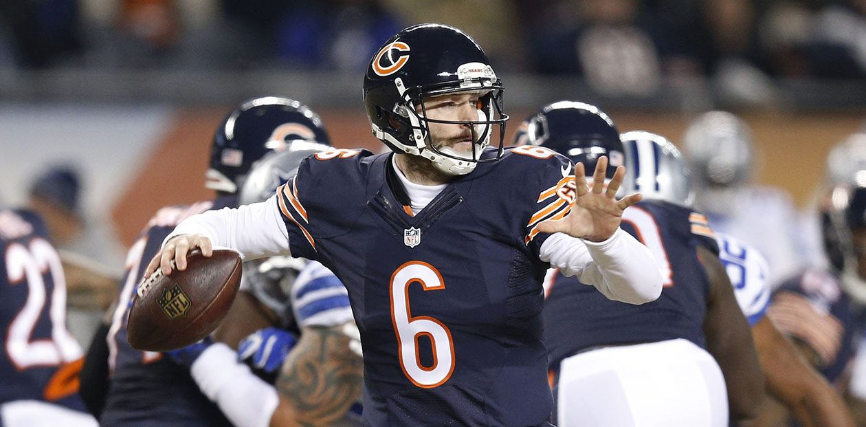 Chicago's Jay Cutler is still a phenomenal streaming target. (Joe Robbins/Getty Images file photo)