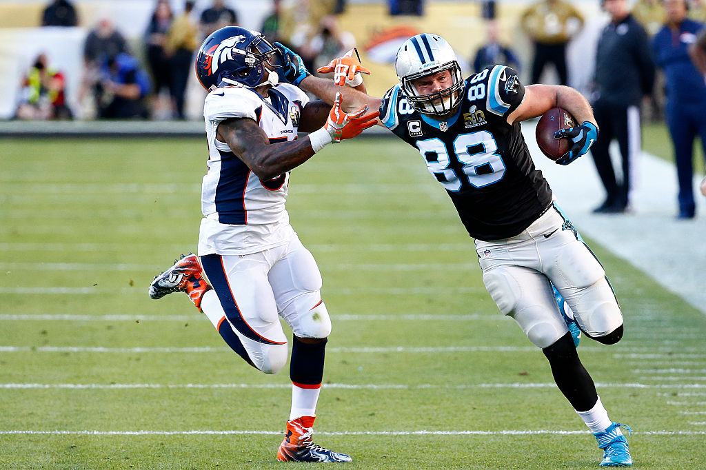 Tight end Greg Olsen aiming for decision by end of week