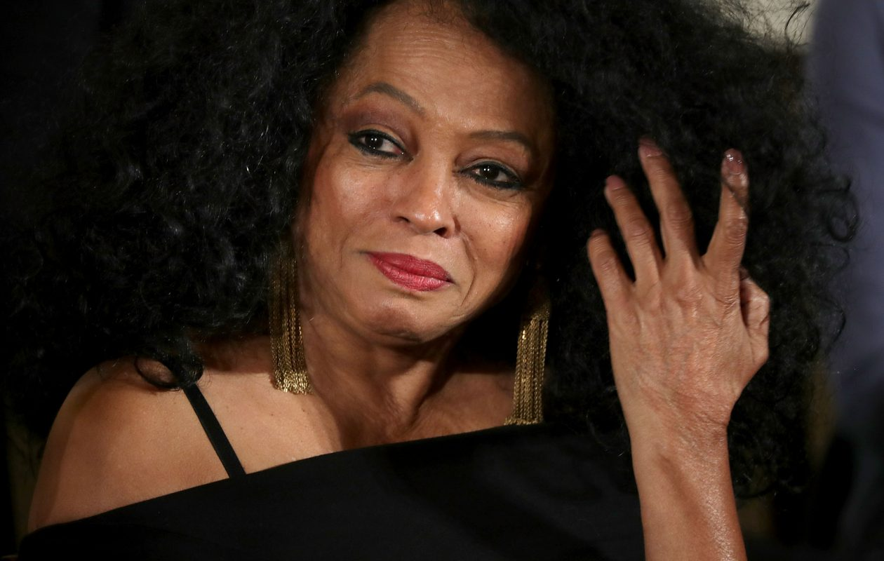 Diana Ross offered seven of her biggest Supremes hits in an hour-plus set Friday at Seneca Niagara Casino Event Center show.  (Getty Images file photo)