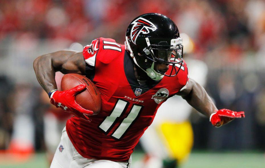 Falcons wideout Julio Jones (Getty Images)