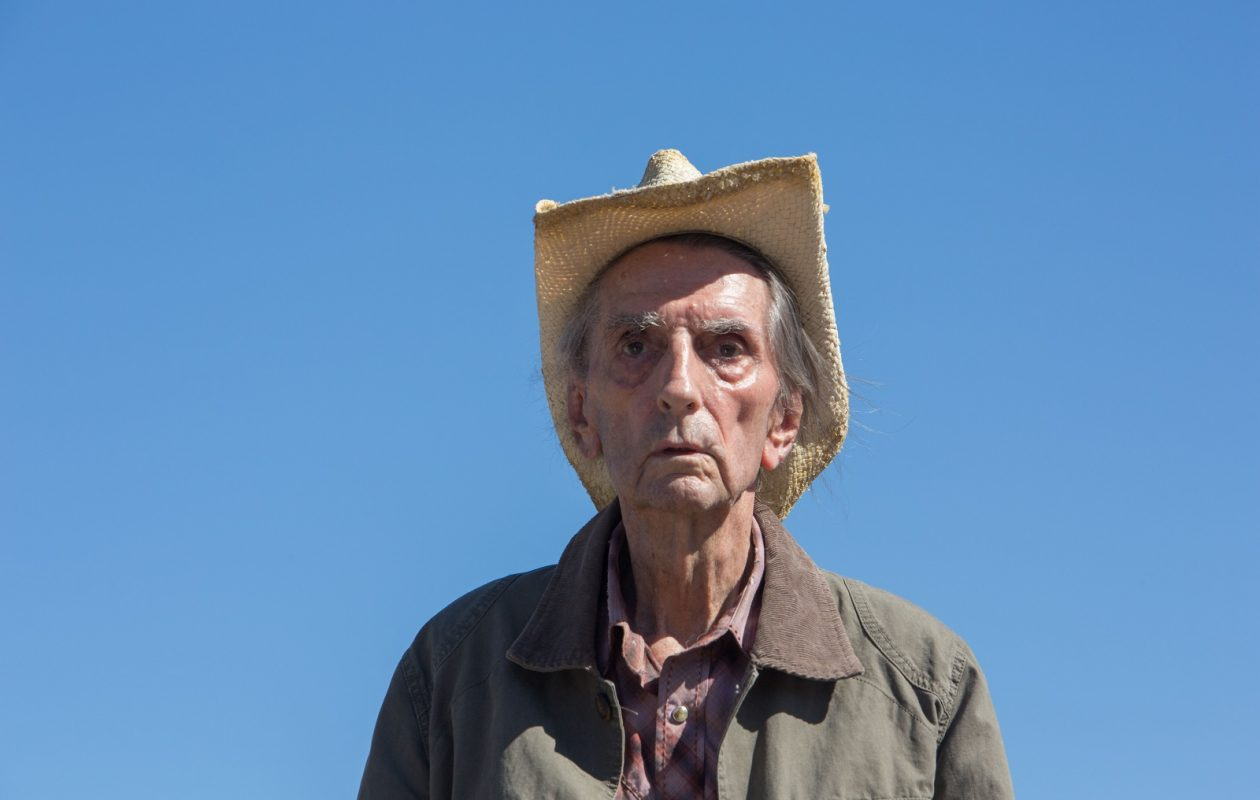 Harry Dean Stanton, in 'Lucky.' (Films/Rex Shutterstock/Zuma Press/TNS)