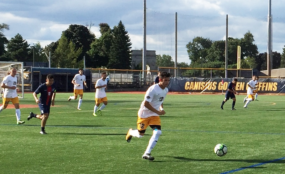 Troy Brady earned MAAC Offensive Player of the Week honors for Canisius. (Ben Tsujimoto/Buffalo News)