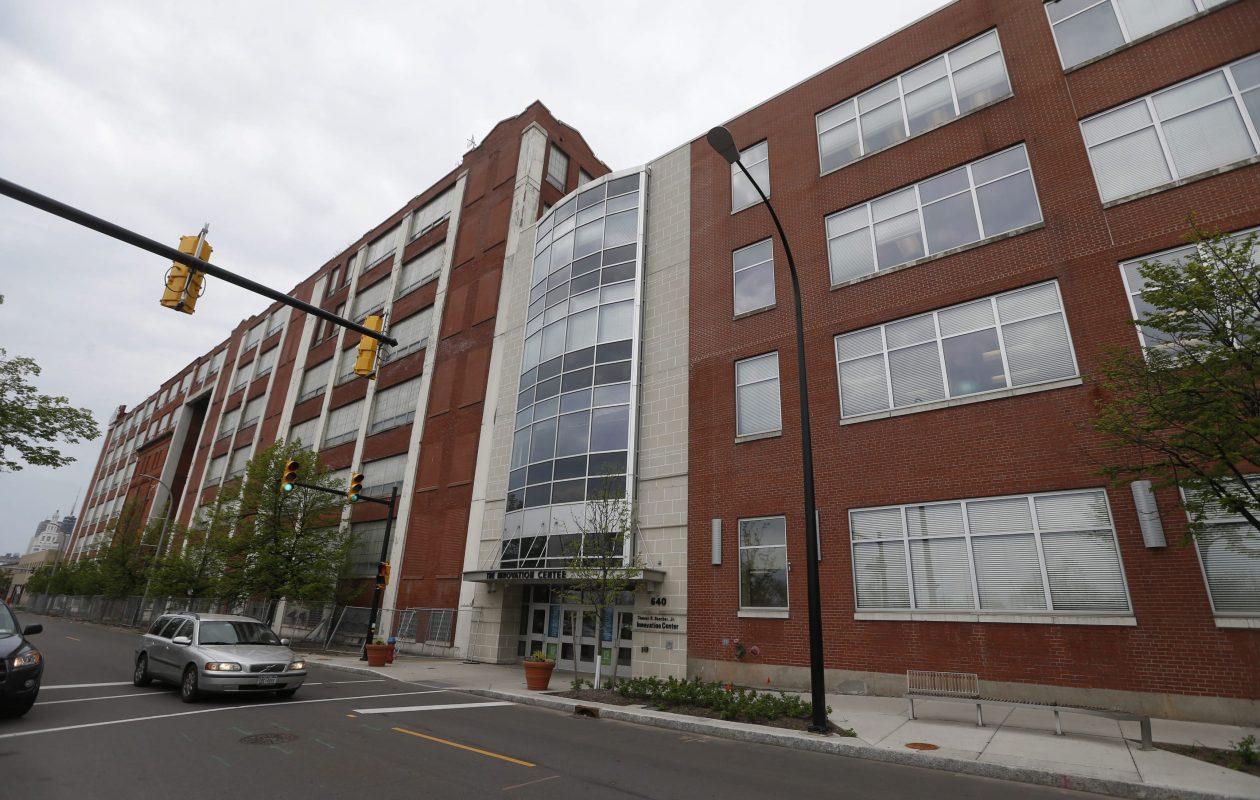 The Innovation Center on the Buffalo Niagara Medical Campus will host the Topcoder finals in October. (Robert Kirkham/Buffalo News file photo)