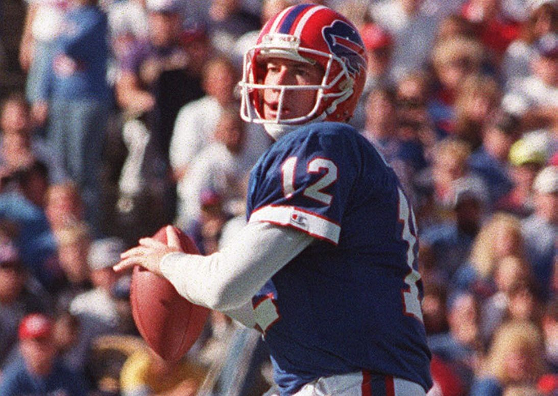 Jim Kelly during his Bills years. (News file photo)