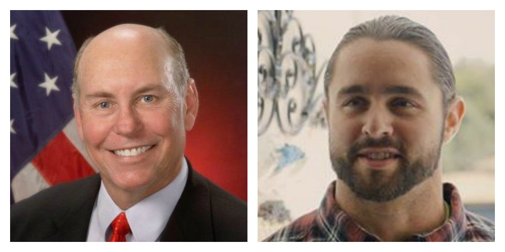 Orchard Park Supervisor Patrick Keem and Edward Shanahan are running against each other in a Republican primary for supervisor on Tuesday, Sept. 12, 2017.