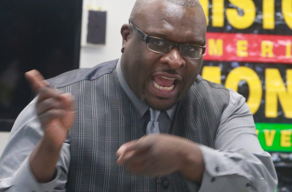 Samuel L. Radford III, (pictured) president of the Coordinating Council, and Larry Scott, co-chair of the Parent-Teacher Organization explain their decision to present a unified voice for district parents. (News file photo)