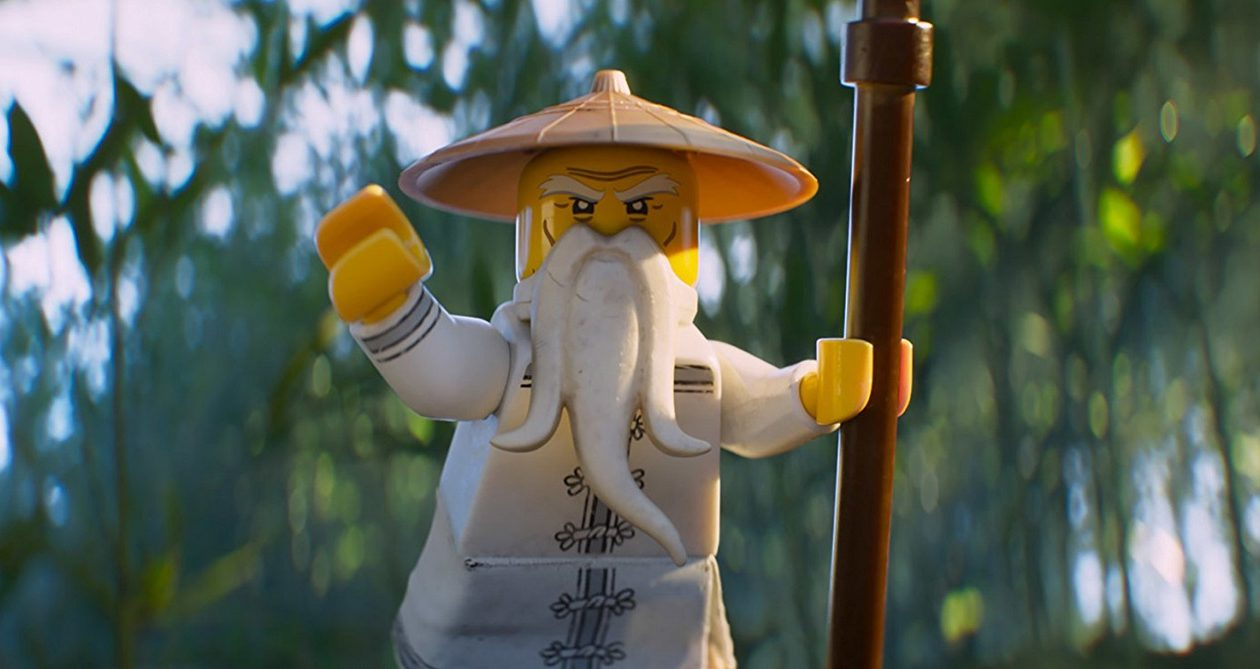 A scene from 'The Lego Ninjago Movie.' (Warner Bros.)