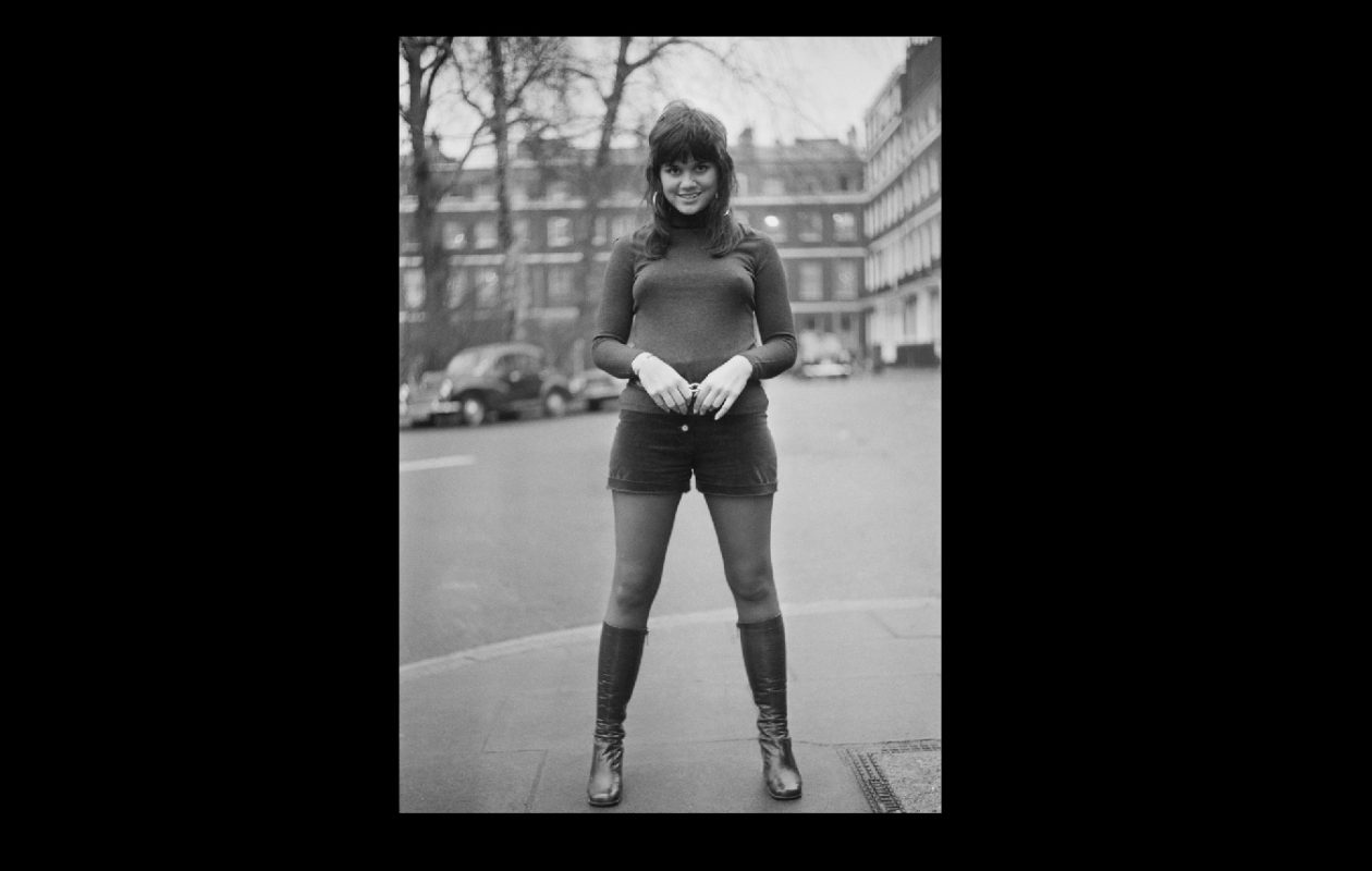 American singer Linda Ronstadt in London, UK, in January 1971. (P. Floyd/Daily Express/Getty Images)