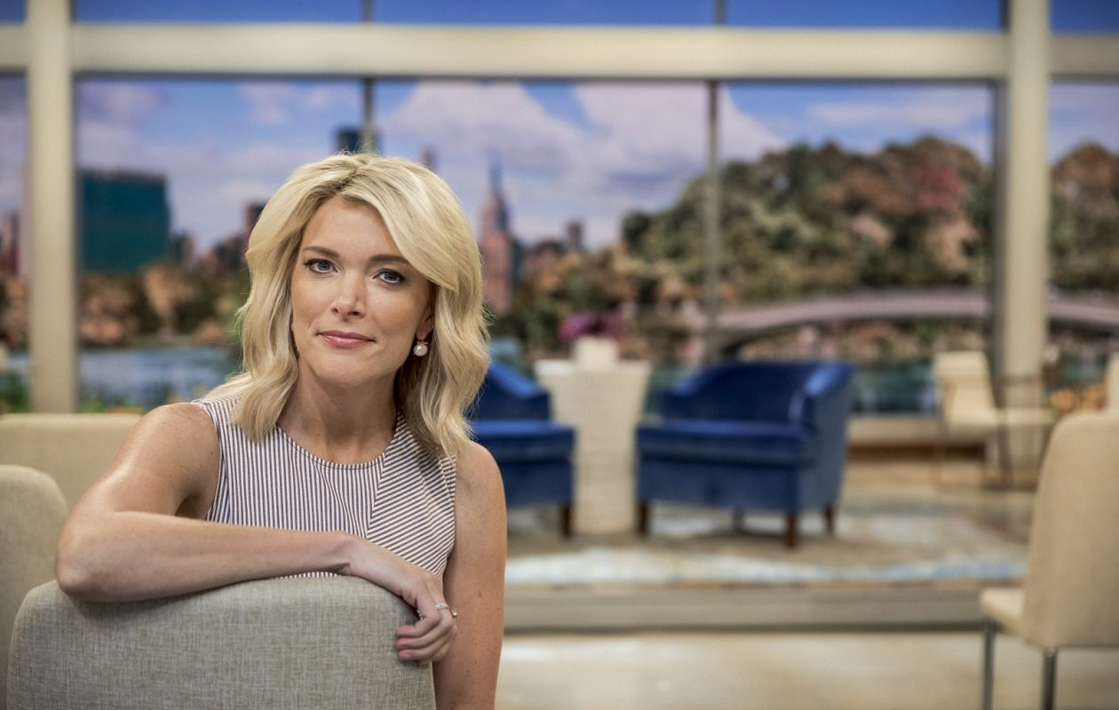 """Megyn Kelly on the set of her new daytime show, """"Megyn Kelly Today,"""" at Rockefeller Center in New York, (Chad Batka/The New York Times)"""