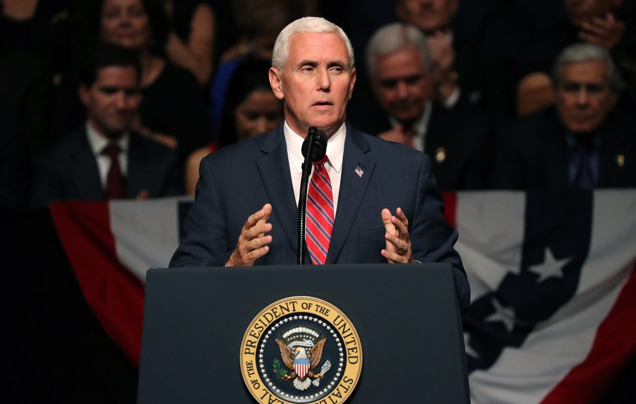 Vice President Mike Pence's planned visit in October will be the first time a high-ranking member of the Trump administration has come to Buffalo. (Joe Raedle/Getty Images file photo)