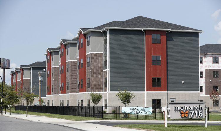 The Monarch 716 complex at 100 Forest Ave. (Mark Mulville/News file photo)