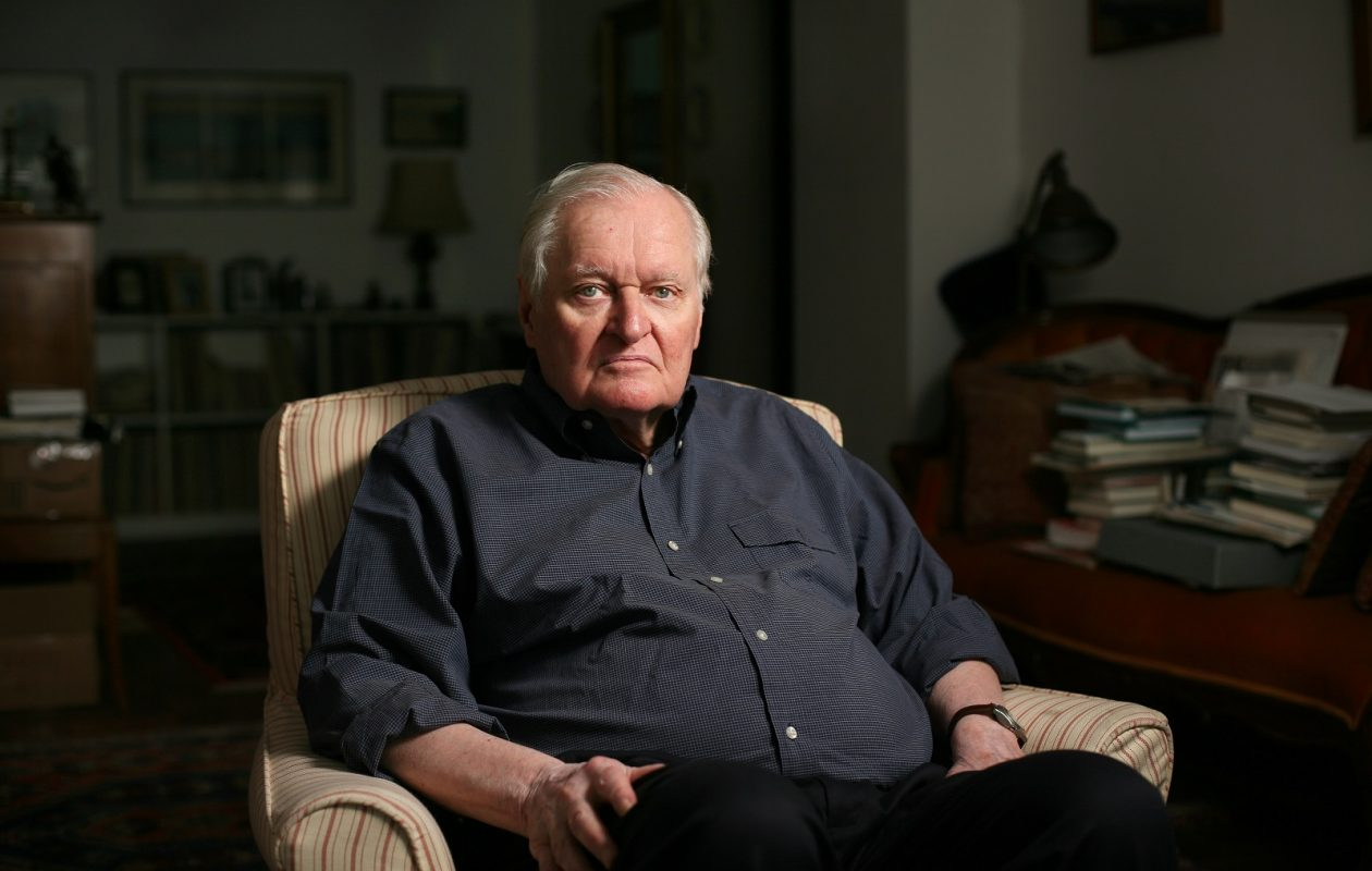 John Ashbery, one of the most original and enigmatically challenging poets of the late 20th century. (Michale Nagle/The New York Times)