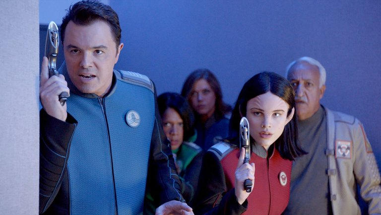 'The Orville' follows a National Football League game on FOX the next two weeks, but is there substance to the show? (via FOX)