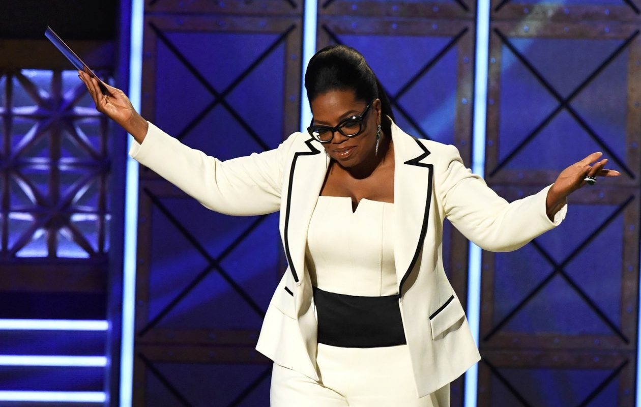 Oprah Winfrey, here at the 69th Annual Primetime Emmy Awards, adds a new dimension to '60 Minutes.' (Kevin Winter/Getty Images)