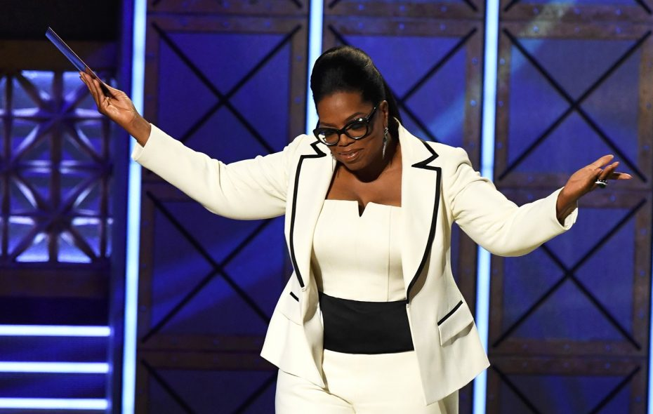 """Oprah Winfrey, here at the 69th Annual Primetime Emmy Awards, adds a new dimension to """"60 Minutes."""" (Kevin Winter/Getty Images)"""